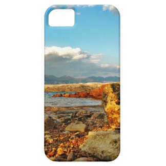 Stone beach on the island Pag in Croatia Case For The iPhone 5