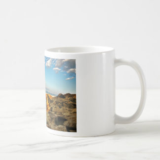 Stone beach on the island Pag in Croatia Coffee Mug
