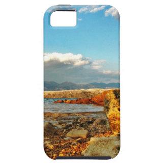 Stone beach on the island Pag in Croatia iPhone 5 Covers