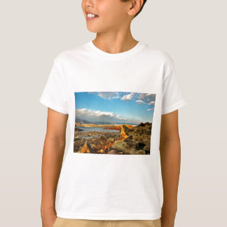 Stone beach on the island Pag in Croatia T-Shirt