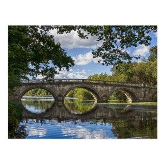 Stone bridge card postcard