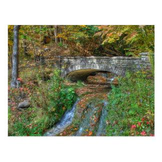Stone Bridge in Autumn Postcard