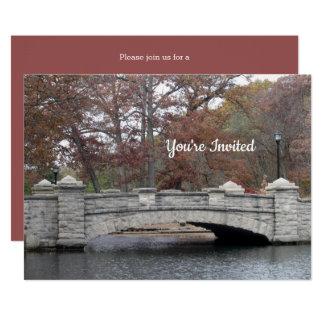 Stone Bridge Invitation