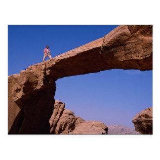 Stone bridge, Wadi Rum, Jordan Postcard