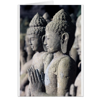 Stone Buddha statues Card