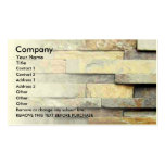Stone Business Card