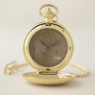 Stone Camo Pocket Watch