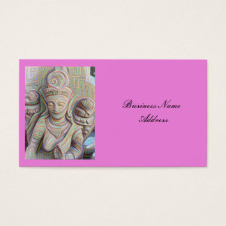 stone carved dakinis Thunder_Cove Business Card