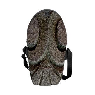 Stone Carving Messenger Bag