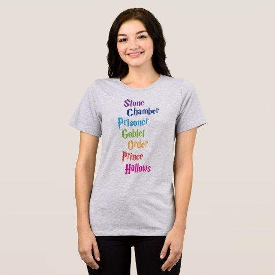 Stone Chamber Prisoner Goblet Order Prince Hallows T-Shirt