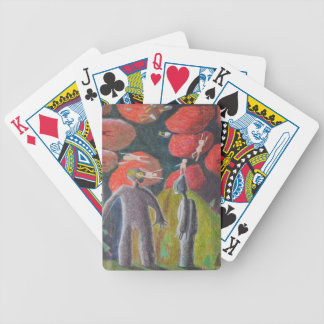 Stone Children Bicycle Playing Cards