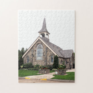 Stone Church Jigsaw Puzzle