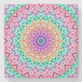 Stone Coaster Mandala Mehndi Style G379