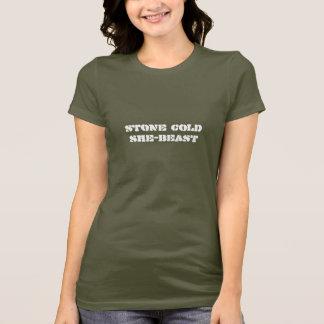 """Stone Cold She-Beast"" T-Shirt"