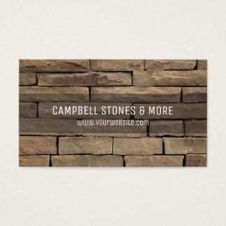 Masonry business cards and business card templates for Masonry business card ideas