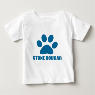STONE COUGAR CAT DESIGNS BABY T-Shirt