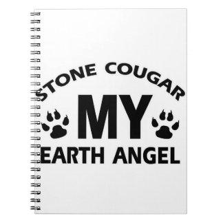 STONE COUGAR CAT NOTE BOOKS