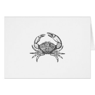 Stone Crab Logo (line art) Card