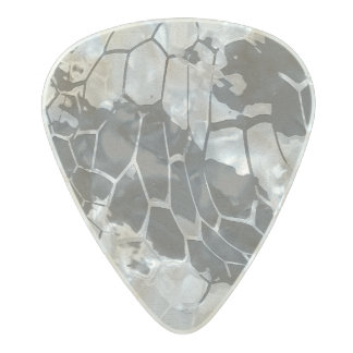 stone dragon camouflage pearl celluloid guitar pick