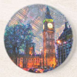 Stone Drink Coasters Big Ben London