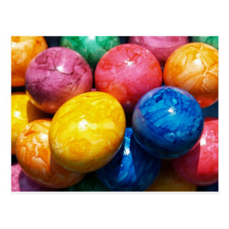 Stone Easter Eggs Postcard