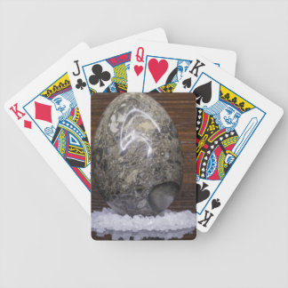 Stone Egg Bicycle Playing Cards