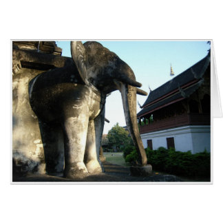 Stone Elephant Card