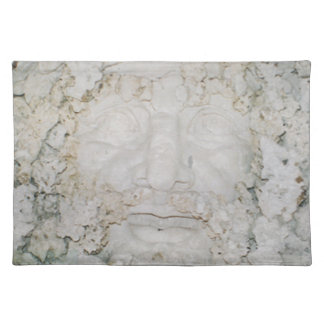 Stone-Face3 Placemat