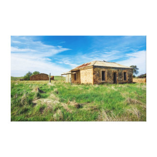 Stone Farmhouse Canvas Print