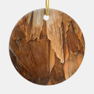 Stone Fold Elegance Ceramic Ornament