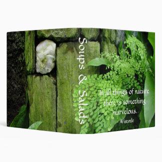 Stone Garden - Recipe Binder