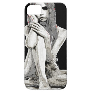 Stone girl case for the iPhone 5
