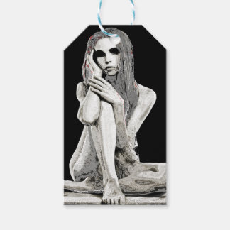 Stone girl pack of gift tags