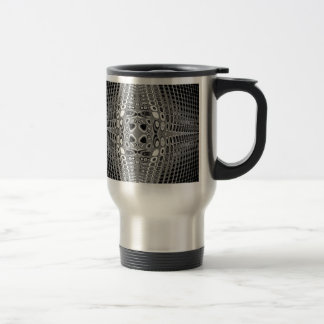 Stone Grid Travel Mug