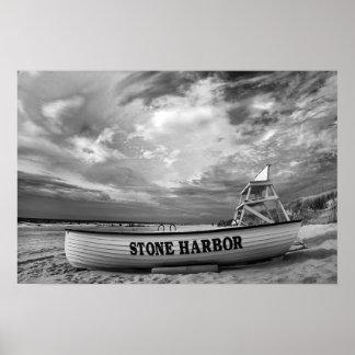 Stone Harbor Beach, NJ Poster