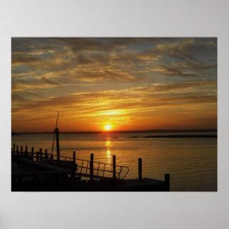 Stone Harbor Sunset Poster