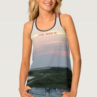 Stone Harbor Sunset Women's Tank Tank Top