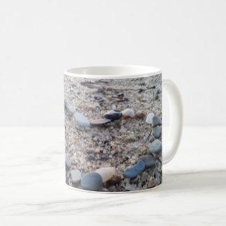 Stone Heart in the Sand Mug