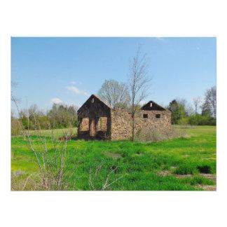 Stone House Ruins Photo Print