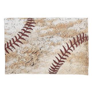 Stone-Like Rustic Vintage Baseball Pillow Case Pillowcase