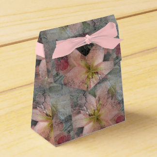 Stone look flower design Gift Box