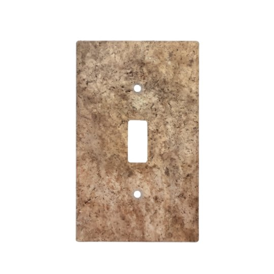 Stone Look Light Switch Covers