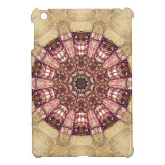 Stone Look Stained Glass or Ship's Wheel iPad Mini Case