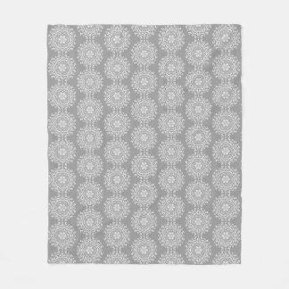 Stone Mandala Fleece Blanket