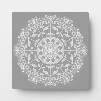 Stone Mandala Plaque