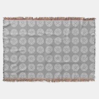 Stone Mandala Throw Blanket