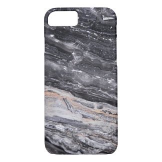 Stone Masculine Black White Grey Marble iPhone 8/7 Case