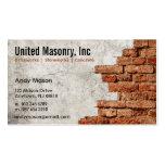 Stone Masonry business cards