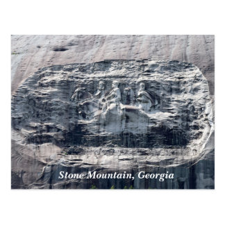 Stone Mountain Georgia Park Memorial Postcard