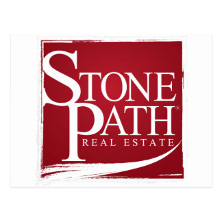 Stone Path Real Estate Apperal Postcard